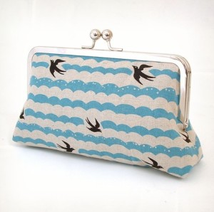 on the wing luxury clutch