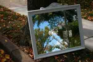 FR's shabby chic mirror