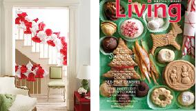 december issues of house beautiful & martha stewart living