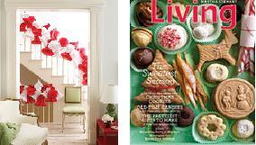 december issues of house beautiful & martha stewart living
