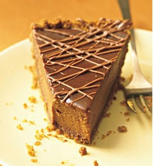 martha's triple chocolate pumpkin pie