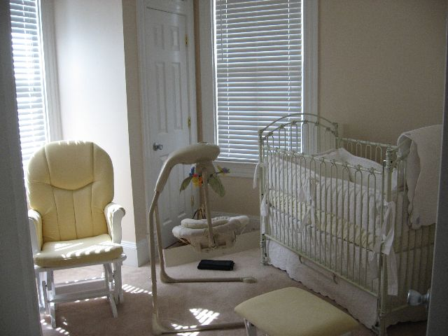 before shot of the nursery
