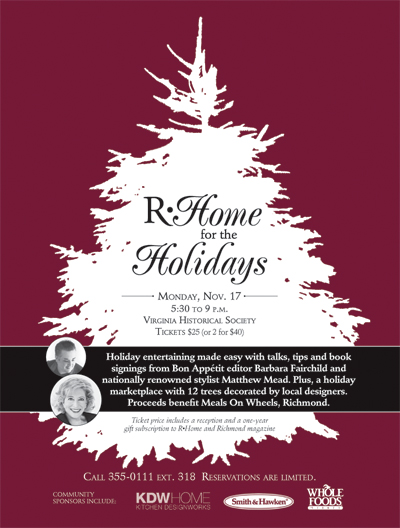 R Home for the Holidays Inaugural Event!