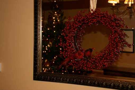 layered wreath