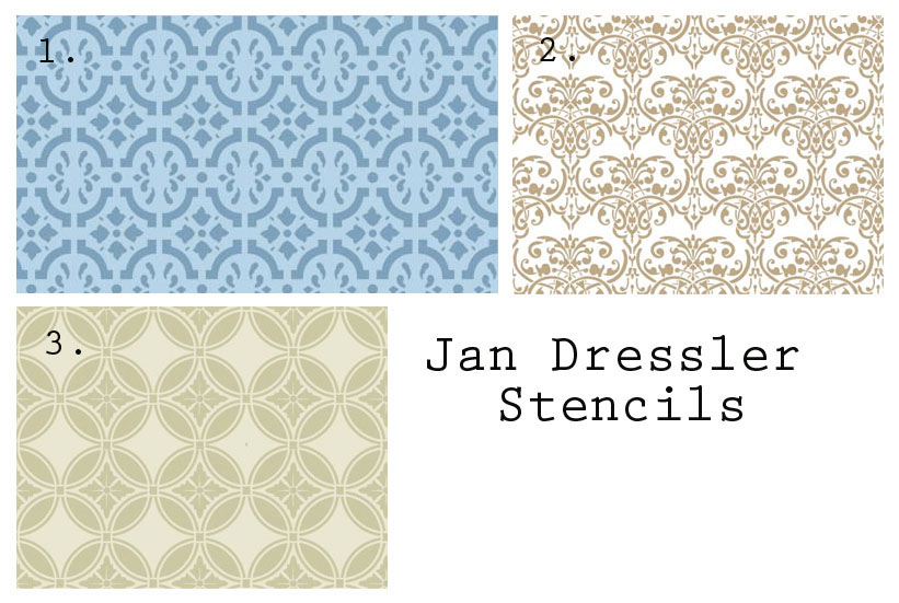 more options from jan dressler stencils