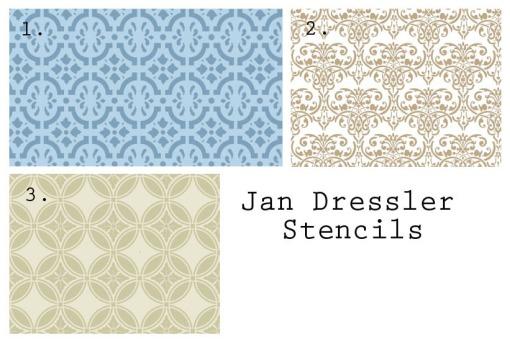 more options from jan dressler stencils