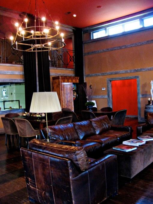 view of the veritas tasting room