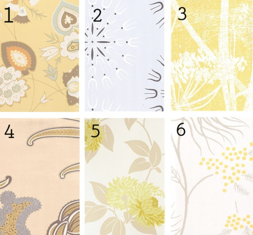 wallpaper options from fabricsandpapers.com