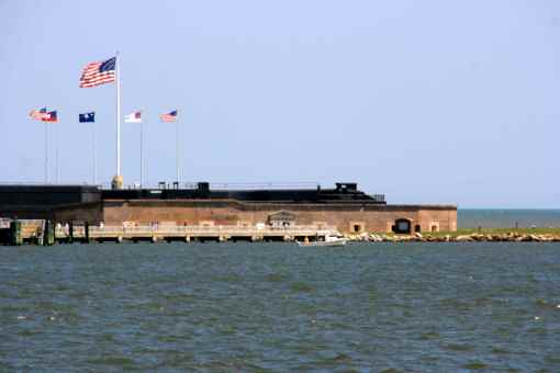an educational trip to ft. sumter for history-loving Husband