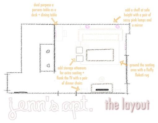Jenn's Apt - Sketch
