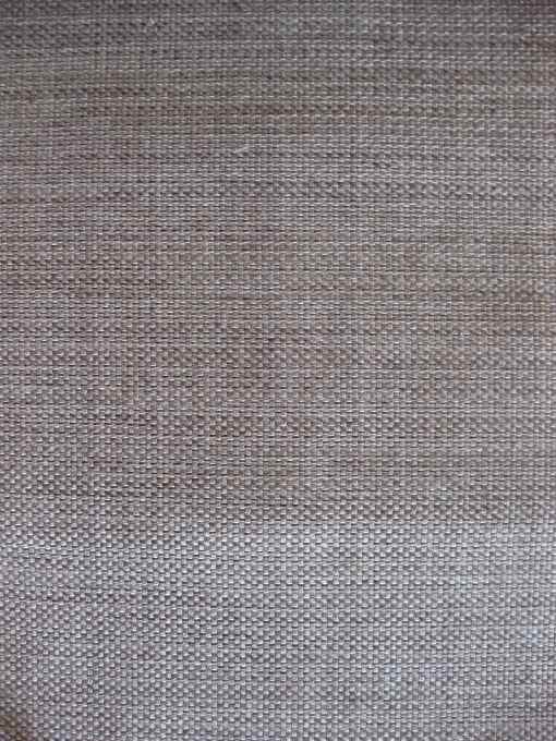 a gray linen-y fabric with a smidge of brown